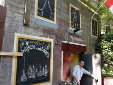 Ruben vermomde bunker 134 S in Groede als Duits café