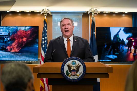 Le secrétaire d'État américain Mike Pompeo
