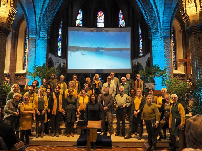 Het koor Da Capo brengt komende zondag het themaconcert 'Moeder Aarde' in de r.k. Simon en Judaskerk in Ootmarsum.
