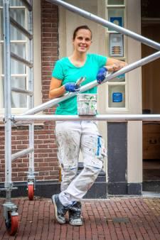 Melanie droomde van schilderen: 'Op kantoor werken is niets voor mij'