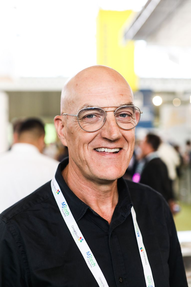 Karel Schelfhout, expert op het gebied van wietkweken. Deed zich altijd voor als tomatenkweker. Beeld Eva Plevier