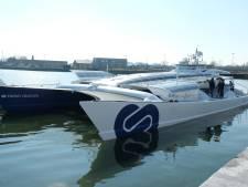 Eerste waterstofschip ter wereld doet Antwerpen aan