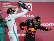 Verstappen in Japan: drie keer podium, altijd gefinisht