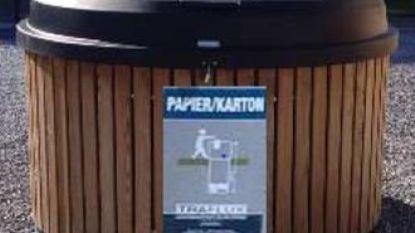 Grobbendonk plaatst ondergrondse papiercontainers