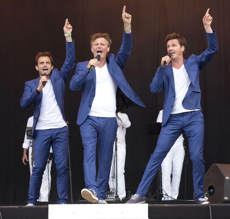 De Romeo's op het podium.