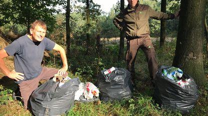 """""""Dit is een bos, geen vuilnisbelt"""""""