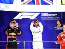 Maximaal resultaat voor Verstappen: tweede achter Hamilton