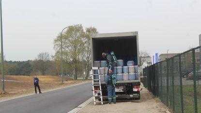 Alweer vaten met drugsafval gevonden in Hamont-Achel