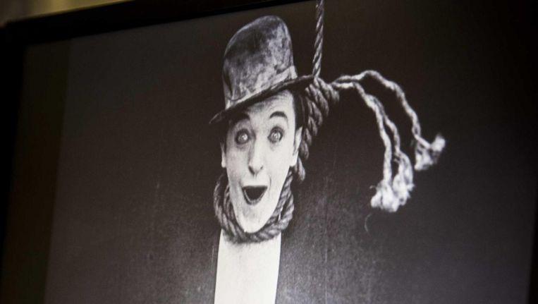 Beelden van de gedigitaliseerde versie van de film Detained, uit 1924. Beeld ANP