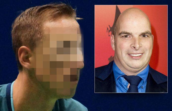 De straf van Mark de J. voor de moord op miljonair Koen Everink (inzet) blijft gehandhaafd.