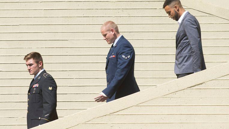 Alek Skarlatos, Spencer Stone en Anthony Sadler gaan zichzelf spelen in de nieuwe film van Clint Eastwood.