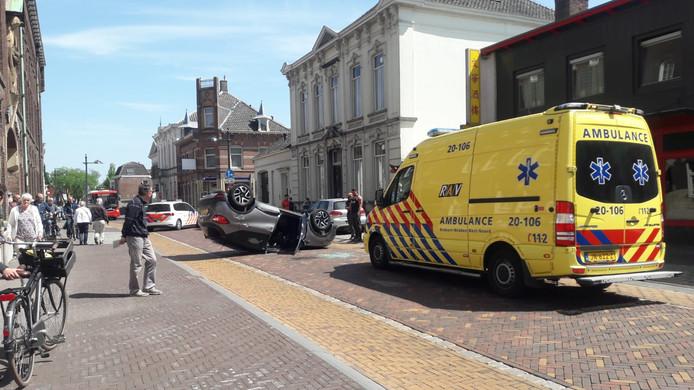 Auto op zijn op in Oudenbosch