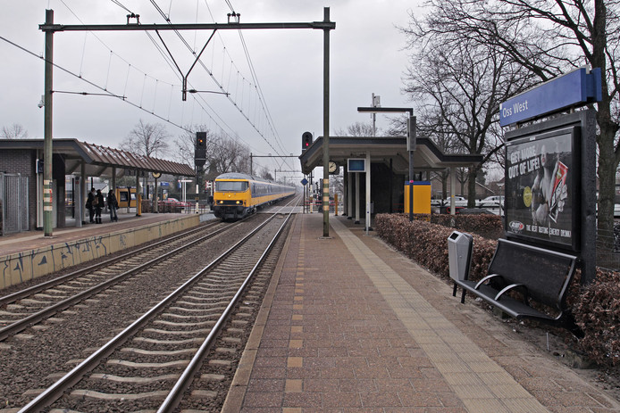 Foto station Oss-West ter illustratie.
