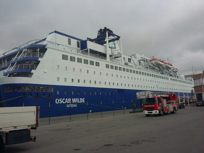 Veerboot Oscar Wilde van Irish Ferries.