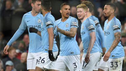 De Bruyne scoort eerste Premier League-goal sinds 22 december en gidst City naar leidersplaats