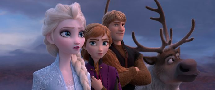 Een beeld uit 'Frozen 2'.