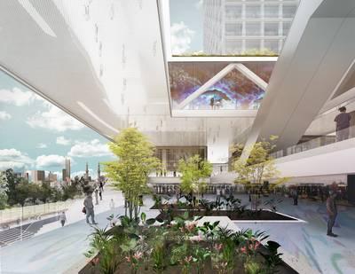 Architect: zo gaat de omgeving van het nieuwe Feyenoordstadion eruitzien