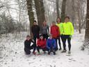 Ava '70 had een mooie ochtendduurloop in de sneeuw in Aalten