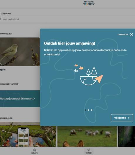 App voor de thuisblijvers: hulp bij herkennen vlinder of vogel in eigen tuin