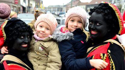 Kindjes hadden geen schrik van Zwarte Piet