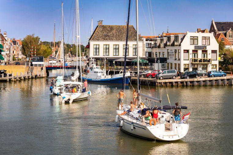 Het Zee-kasteel alias Sociëteit Zeeburg uit Vestdijks romans is nu driesterrenhotel Zeezicht. Beeld Sander Groen