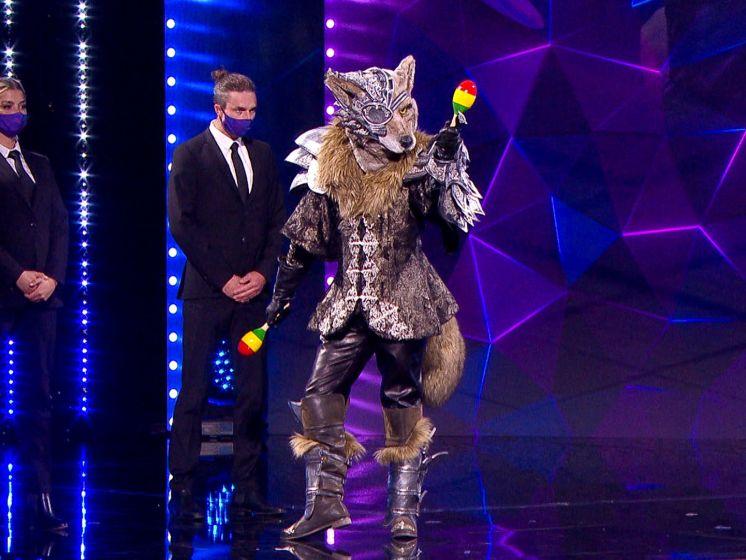 Wolf laat zich opnieuw van een andere kant zien in 'The Masked Singer'