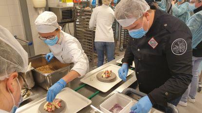 Kempense chef-koks bereiden 15.000 gezonde maaltijden voor zorgverleners