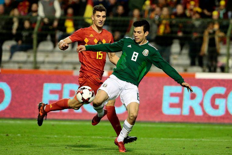 Lozano verraste iedereen tegen België.