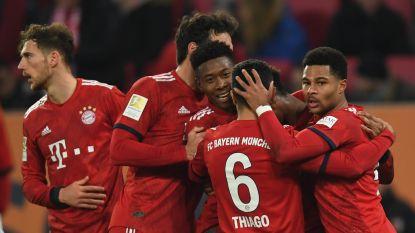 FT buitenland. Bayern moeizaam langs Augsburg - Kabasele met Watford naar kwartfinale FA Cup