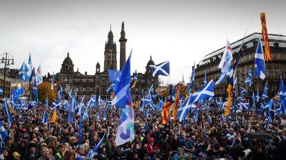 """Duizenden Schotten op straat voor onafhankelijkheid: """"Ligt meer dan ooit binnen bereik"""""""