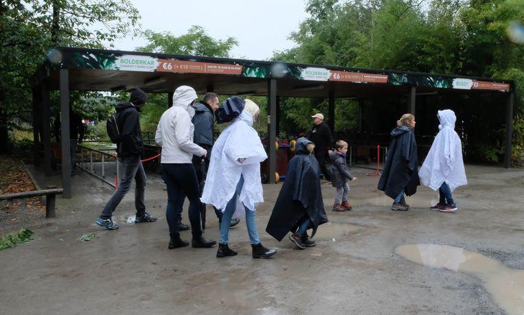 Nationale Kinderkankerdag. Een regenwas was geen overbodige luxe.