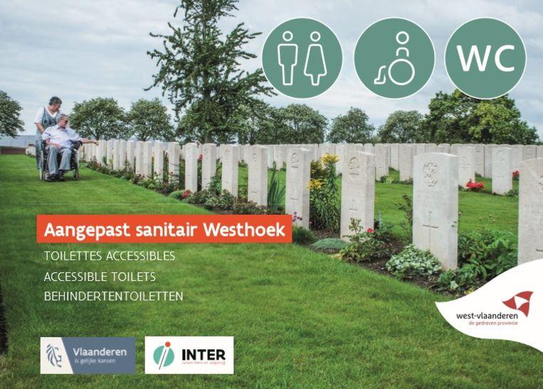 De brochure 'aangepast sanitair Westhoek' werd vernieuwd