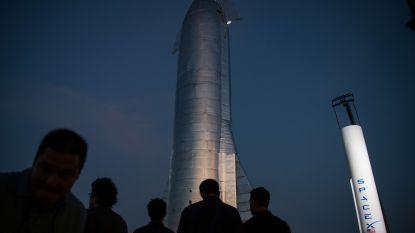 Prototype van SpaceX ontploft bij test