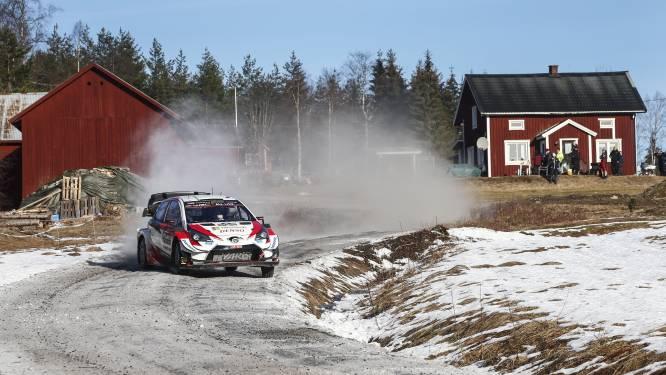 Evans neemt optie op eindzege in Rally van Zweden, Neuville nog altijd zesde