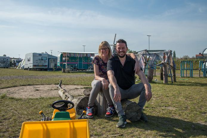 Martine en Quincy Hernandez, de uitbaters voor de Stadscamping in Harderwijk die veel potentie heeft, dat heeft afgelopen paasweekend wel bewezen.
