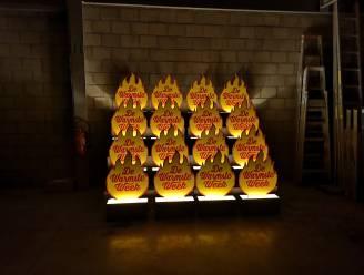 Heb jij de houten vlammetjes al gespot? Beringen steunt De Warmste Week met nieuw initiatief