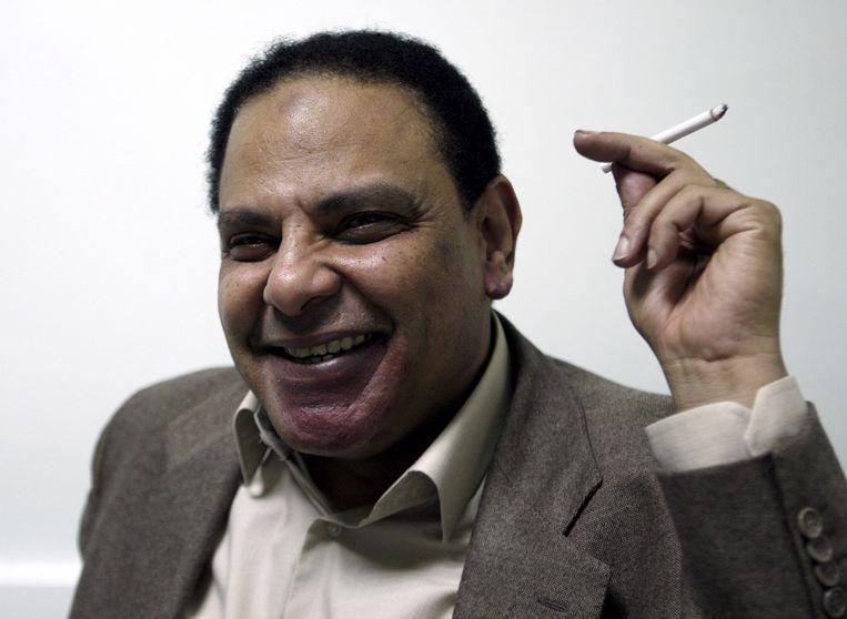 Alaa Al Aswani in 2011. Foto EPA Beeld EPA