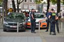 Twee mannen aangehouden in Breda na achtervolging vanuit België.