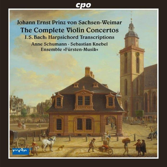 Anne Schumann, Sebastian Knebel en Ensemble Fürsten-Musik - Johann Ernst Prinz