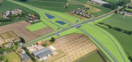 Zo ziet de nieuwe N279 bij Gemert, Laarbeek en Helmond eruit