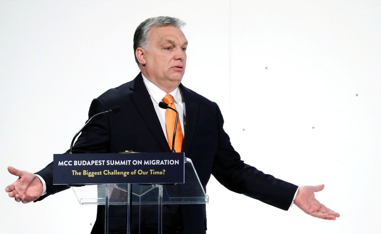 De Hongaarse premier Viktor Orban is niet van plan zomaar in te binden.