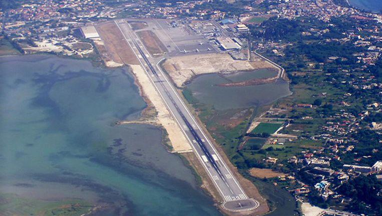 Corfu Airport. Beeld .