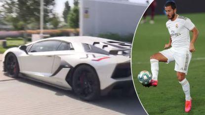 Hazard maakt grote sier in Madrid met een exclusieve Lamborghini die half miljoen euro kost