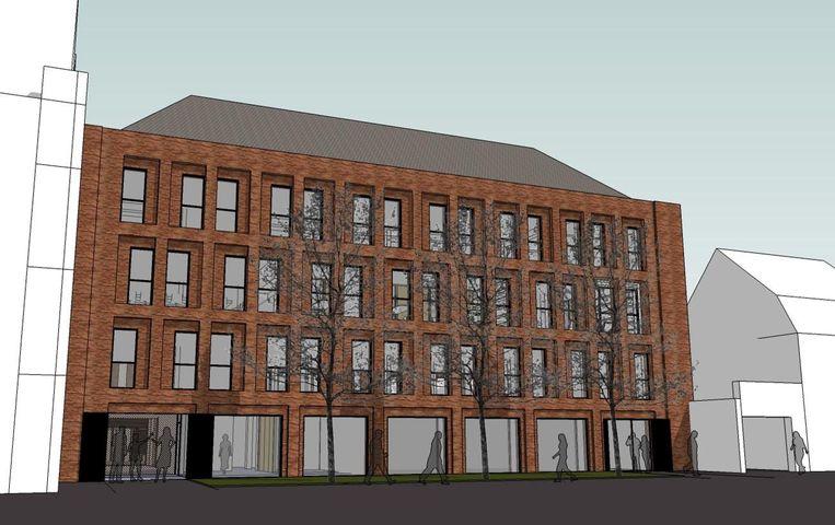 Zo moet het nieuwe Studentenhuis er gaan uitzien.