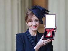 J.K. Rowling krijgt Britse ridderorde van prins William