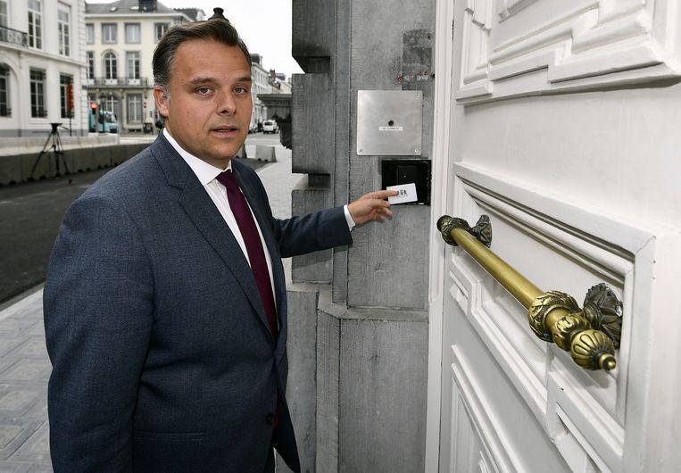 Philippe De Backer (Open Vld), staatssecretaris voor de Noordzee.