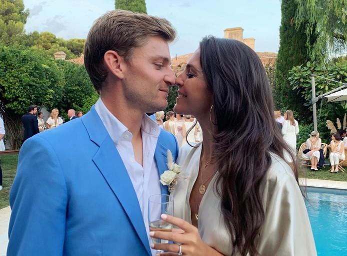 David Goffin et sa petite amie Stéphanie Tuccitto