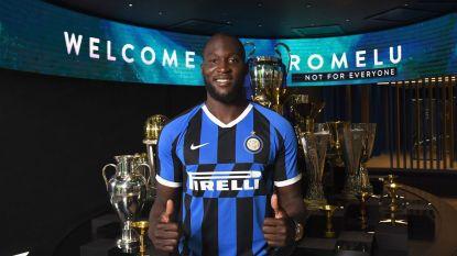 Nu ook officieel: Romelu Lukaku is de nieuwe spits van Inter