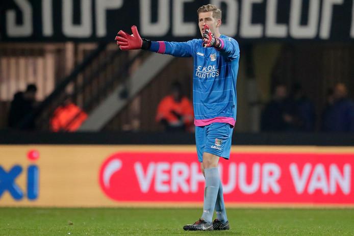 NEC-doelman Mattijs Branderhorst.
