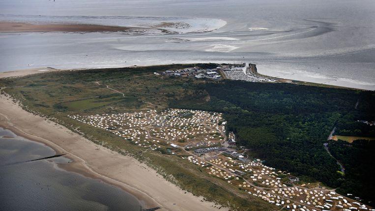 Luchtfoto van Vlieland. Beeld anp